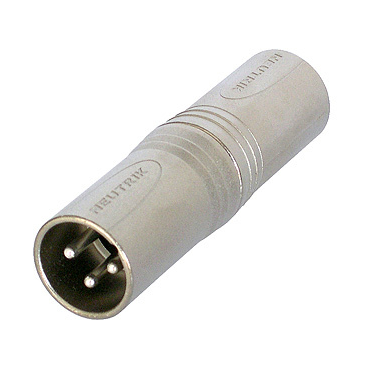 Neutrik NA3MM 3-Pin XLR M-M Gender Changer