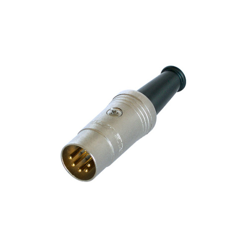 REAN NYS322-G 5-Pin DIN Plug Connector, Gold Pins